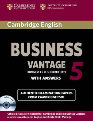 Cambridge English Business 5 Vantage Self-study